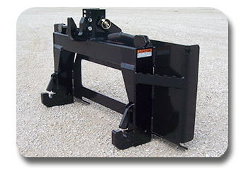 Skid Steer to Cat. I Quick Hitch Adapter.
