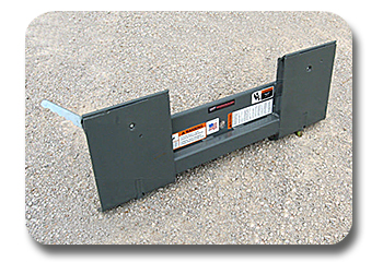 Skid Steer Adapters / Weld on Plates