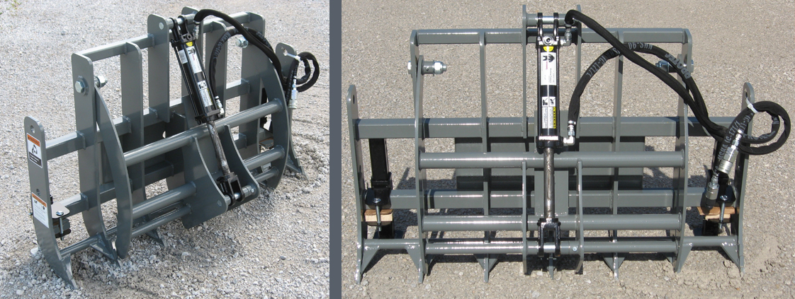 Mini Skid Steer/Compact Tool Carrier Grapple from SitePro