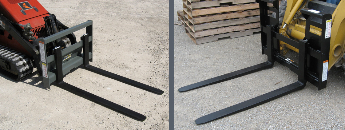 Skid Steer Pallet Forks from SitePro